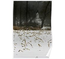 Snowy afternoon Poster