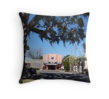 The Old Clay Theater Throw Pillow