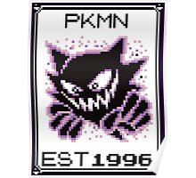 Haunter - OG Pokemon Poster