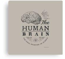 Science - Human Brain Canvas Print