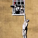 Banksy - Park Street Indescrection  by saracobbs