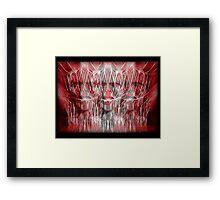 WRATH THREEFOLD Framed Print