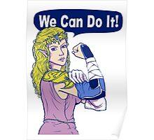 ZELDA - We Can Do It!  Poster