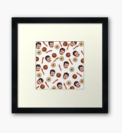 All the Bacon and Eggs Framed Print