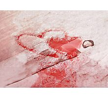 Turn to ice Photographic Print
