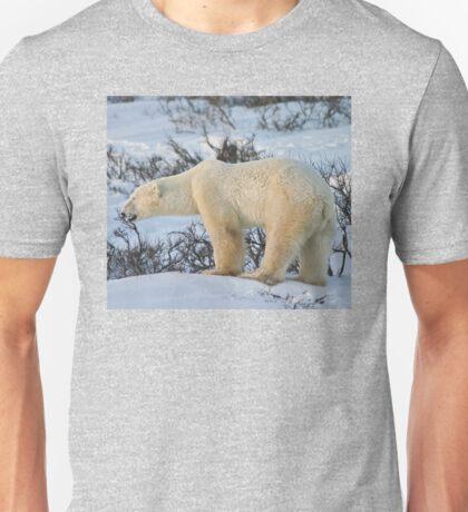 Yoga Bear standing happy Unisex T-Shirt