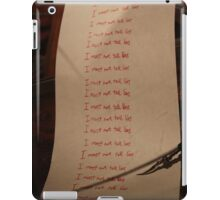 I must not tell lies - Harry Potter iPad Case/Skin