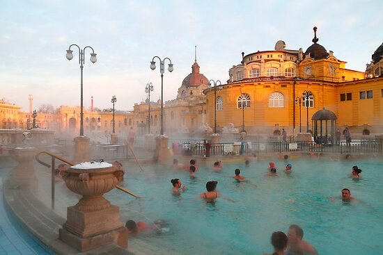 Széchenyi medicinal baths III by zumi