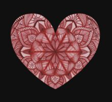 Heart Mandala Kids Tee