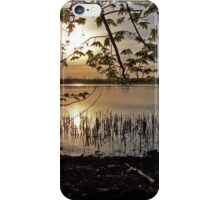 Sunset over a River iPhone Case/Skin