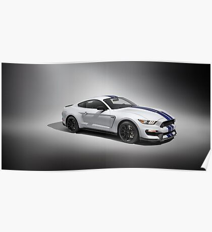 Ford Mustang GT-350 Poster