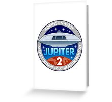 Jupiter 2 Mission Patch Greeting Card