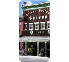 Silver Dollar Saloon, Leadville, Colorado iPhone Case/Skin