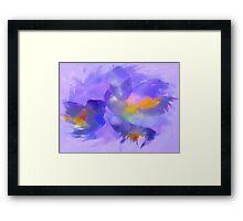 Water Color Crocus Framed Print
