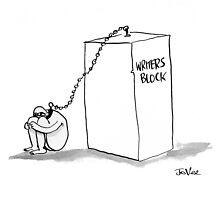 writers block by Loui  Jover