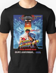 Street Fighter II Mega Drive Cover T-Shirt