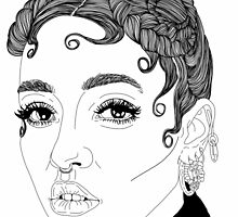 FKA Twigs #2 by hellviticus