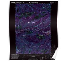 USGS Topo Map Oregon Government Camp 280060 1997 24000 Inverted Poster