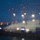 Rainy Pane, Dome Lights by gsp100677