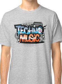 Techno Music Classic T-Shirt