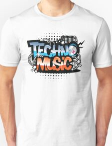 Techno Music T-Shirt