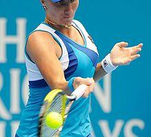 Svetlana Kuznetsova  by Tony Bowler