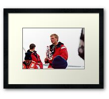 nature's ice cube Framed Print