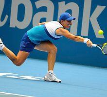 Svetlana Kuznetsova full stretch by Tony Bowler