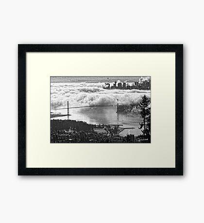 Urban Eiderdown Framed Print