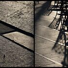 Morning at Heuvel (diptych) by Lenka