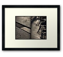 Morning at Heuvel (diptych) Framed Print
