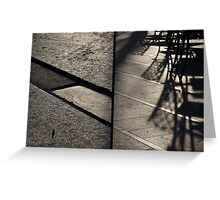 Morning at Heuvel (diptych) Greeting Card
