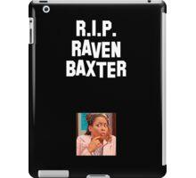 R.I.P. RAVEN BAXTER iPad Case/Skin
