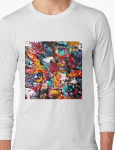 Colorful Abstract Art  Long Sleeve T-Shirt