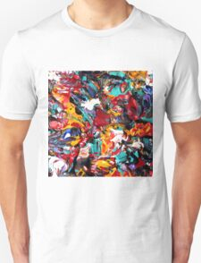 Colorful Abstract Art  T-Shirt
