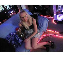 Shire PussyCat Blonde Photographic Print