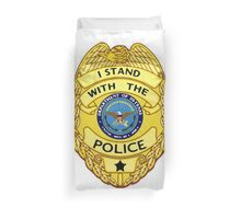 I Stand with the Police Duvet Cover