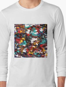 Original Psychedelic Art Long Sleeve T-Shirt