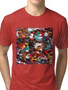 Original Psychedelic Art Tri-blend T-Shirt