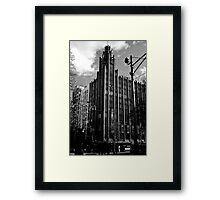 The Manchester Unity Building Melbourne Framed Print