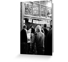 The Borek Shop - Melbourne Greeting Card