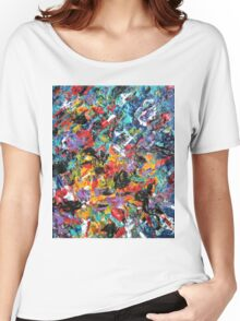 Colorful Original Artwork  Women's Relaxed Fit T-Shirt