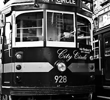 The City Circle Tram - Melbourne by skyebelle