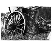 Wooden Wagon Poster