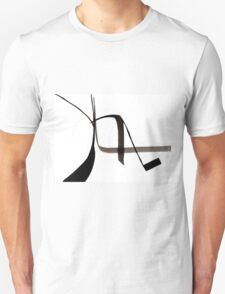 Abstract Ink Design  T-Shirt