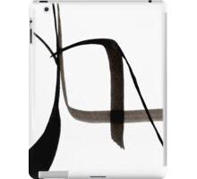 Abstract Ink Design  iPad Case/Skin