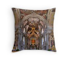 Church - Salzburg Throw Pillow