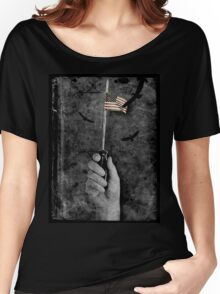 Labor Day For The Middle Class. Women's Relaxed Fit T-Shirt