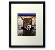 """Sign of the Theory"" - Abstract Framed Print"