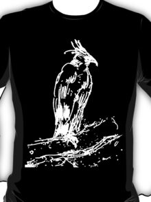 Black Eagle Sketch by Whistler T-Shirt